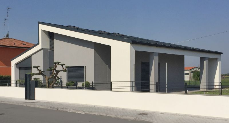 Casa br lorenzo spinazzi architetto pegognaga mantova for Architettura casa moderna